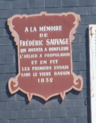 Frédéric Sauvage Marker image. Click for full size.
