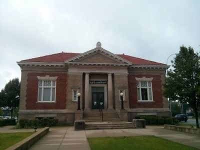 Anton Art Center (formerly Carnegie Library) image. Click for full size.