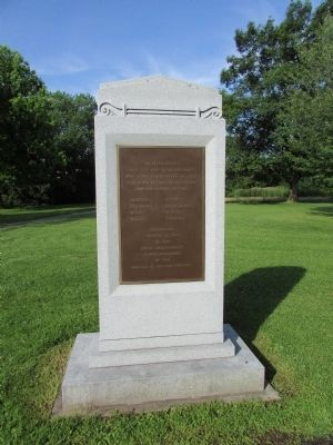 American Indians at the Battle of Fallen Timbers	Marker image. Click for full size.