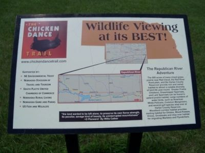 The Chicken Dance Trail<br>Wildlife Viewing at its BEST! image. Click for full size.