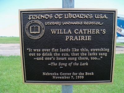Friends of the Libraries Marker image. Click for full size.