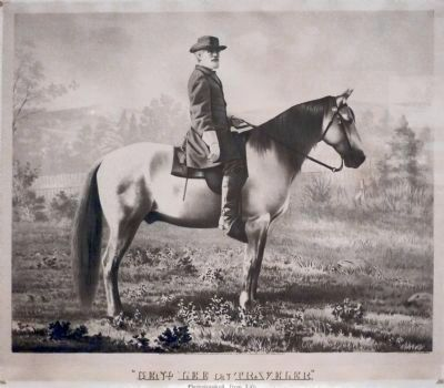 General Lee on Traveller image. Click for full size.