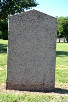 Home Town of Texas Confederate Colonel James E. McCord Marker image. Click for full size.