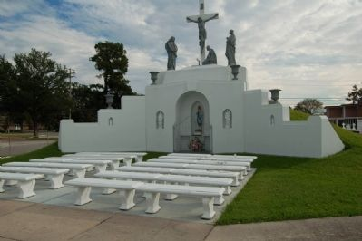St. Joseph Cemetery Calvary-Grotto Shrine image. Click for full size.