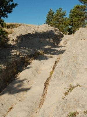 Oregon Trail Ruts image. Click for full size.