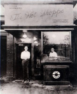 The First Hot Shoppe image. Click for full size.