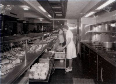 Sholl's Georgian Cafeteria, 1946 image. Click for full size.