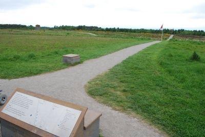 Culloden Battlefield Historical Marker