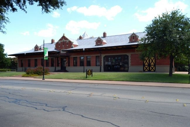 The Restored T&P Depot image. Click for full size.