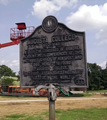 Augusta College Marker image. Click for full size.