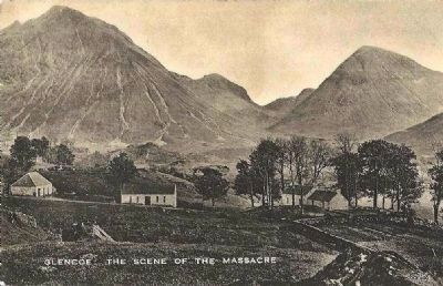 <i>Glencoe. The Scene of the Massacre</i> image. Click for full size.