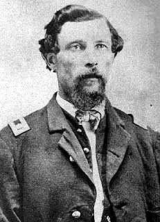 Brevet Lieut Col EMIL FRITZ, 1st California Cavalry, Post Commander of Ft Stanton 1865-66 image. Click for full size.
