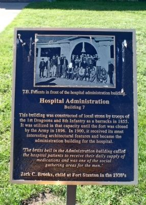 Hospital Administration Marker image. Click for full size.