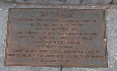 Lusitania Peace Memorial Marker image. Click for full size.