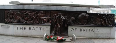 The Battle of Britain Memorial Marker image. Click for full size.