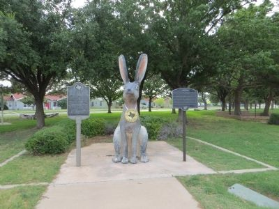 The Jackrabbit Marker (on the left) image. Click for full size.