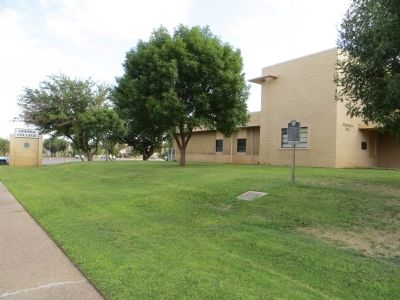 Site of Odessa College Marker image. Click for full size.