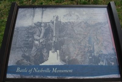 Battle of Nashville Monument Marker image. Click for full size.