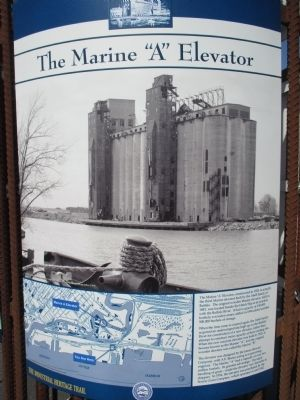 "The Marine ""A"" Elevator Marker image. Click for full size."