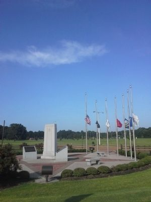 Bartlett Veterans Memorial image. Click for full size.