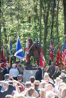 General Patrick R. Cleburne Memorial Unveiling image. Click for full size.
