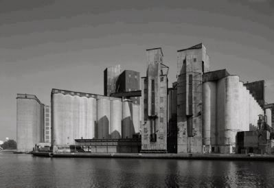 <i>Left to right: Lake and Rail, Perot, and American</i> (Grain Elevators) image. Click for full size.