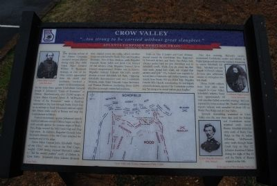 Crow Valley Marker image. Click for full size.