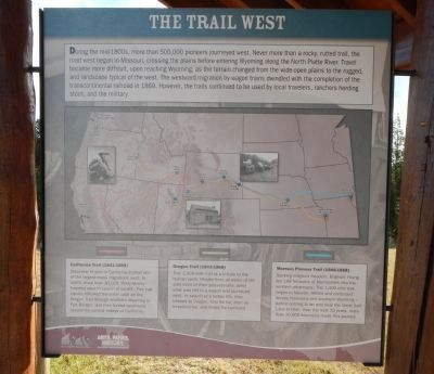 The Trail West panel image. Click for full size.