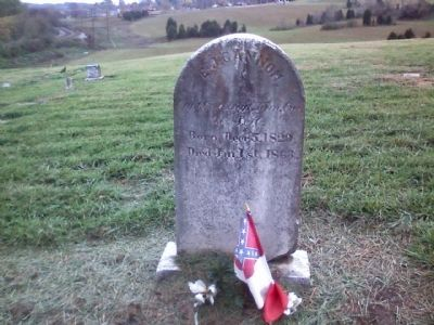 EJ Cannon Grave image. Click for full size.