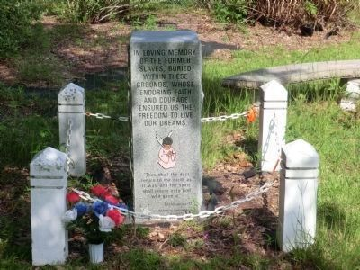 Former Slaves Burying Ground Memorial image. Click for full size.