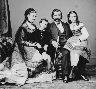 John A. Logan & Family image. Click for full size.