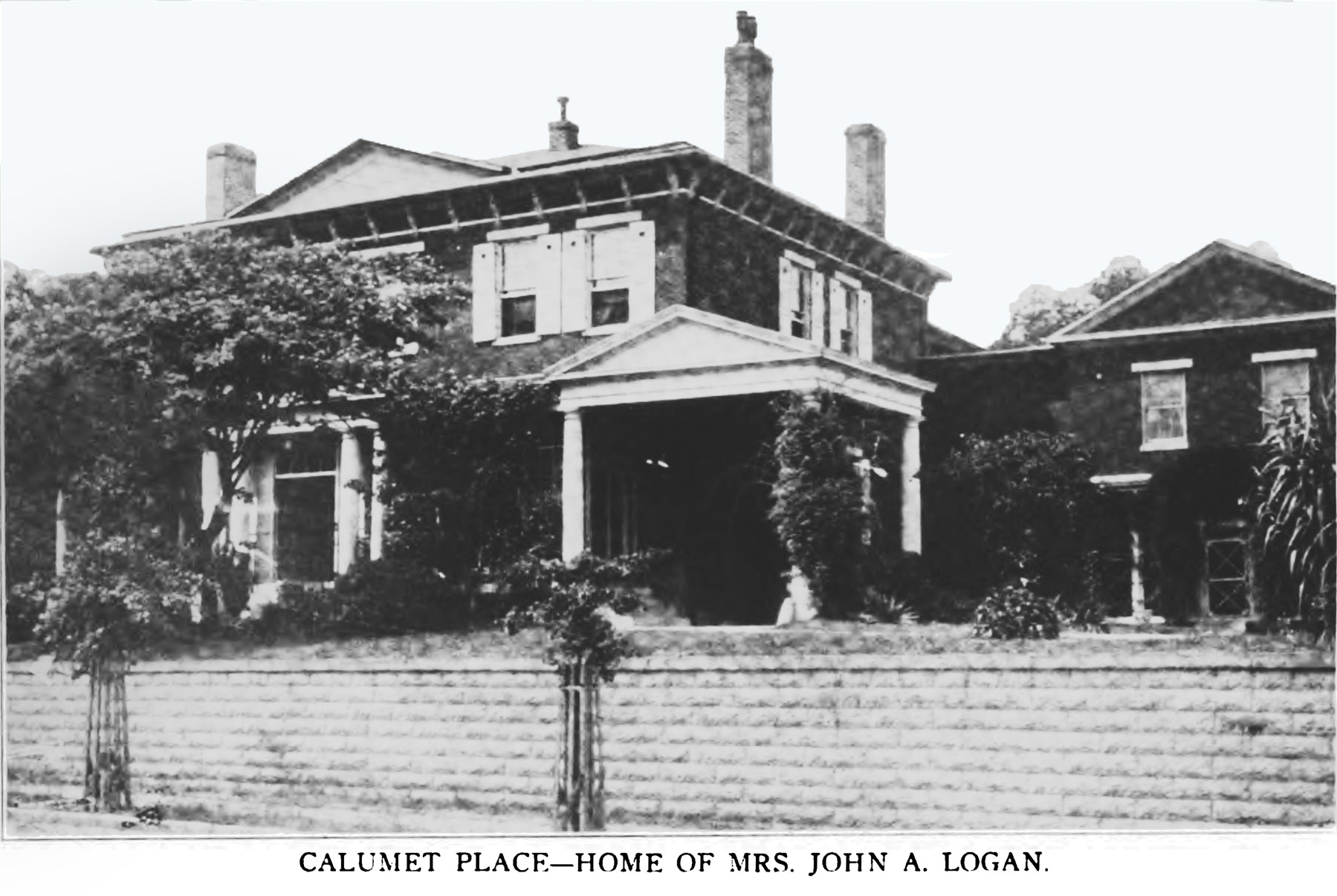 Calumet Place - Home of Mrs. John A. Logan