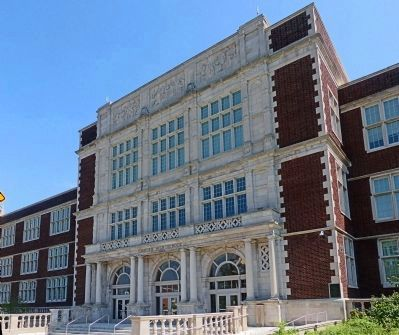Francis L. Cardozo High School image. Click for full size.
