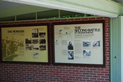 Other Markers in the Exhibit Shelter image. Click for full size.
