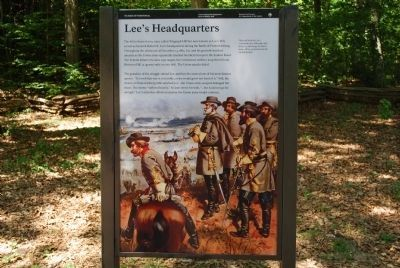 Lee's Hill Marker image. Click for full size.