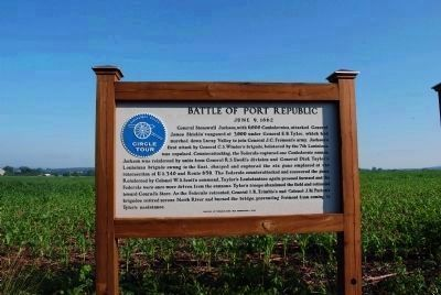 Port Republic Battlefield Marker image. Click for full size.