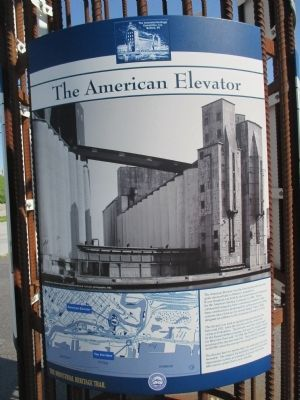 The American Elevator Marker image. Click for full size.