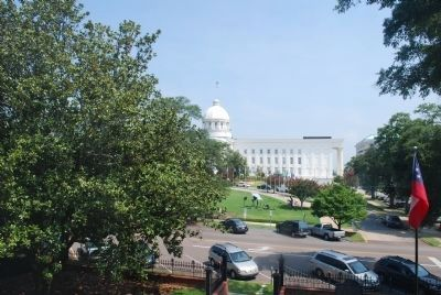 Alabama State Capitol Building From Top Window image. Click for full size.