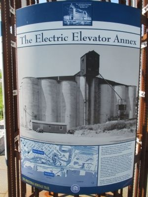 The Electric Elevator Annex Marker image. Click for full size.
