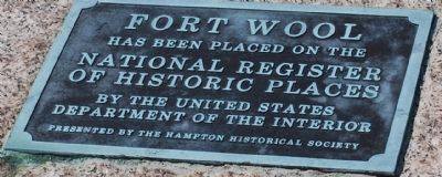 Fort Wool Marker image. Click for full size.