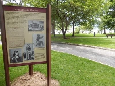 Pennsylvania Slavery Marker image. Click for full size.