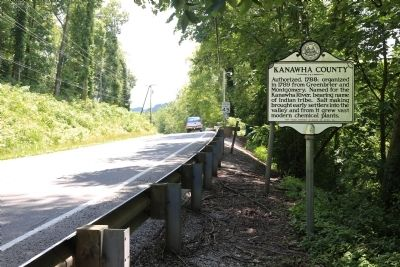 Kanawha County / Putnam County Marker image. Click for full size.
