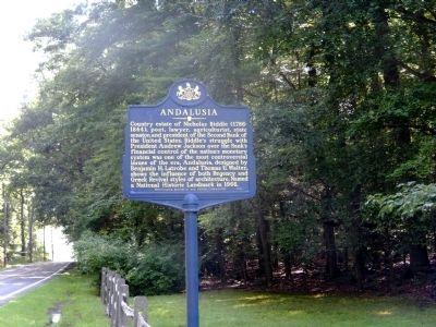 Andalusia Marker image. Click for full size.