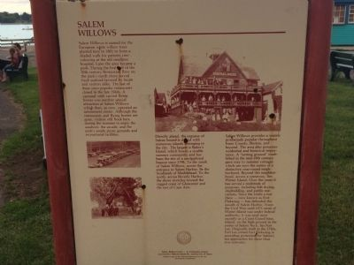 Salem Willows Marker image. Click for full size.