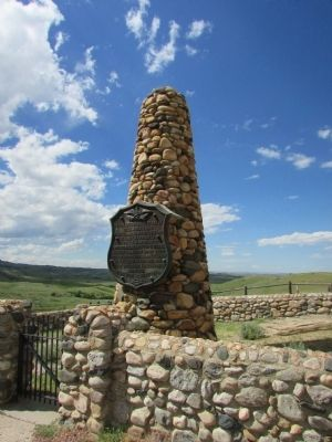 Fetterman Massacre Memorial Marker image. Click for full size.