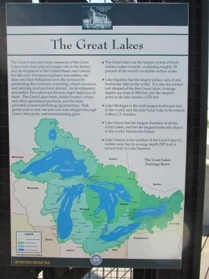 The Great Lakes Marker image. Click for full size.