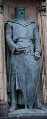 Memorial to William Wallace Statue image. Click for full size.