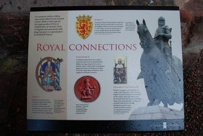 Royal Connections Marker image. Click for full size.