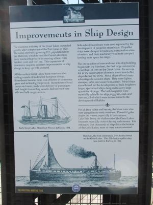 Improvements in Ship Design Marker image. Click for full size.