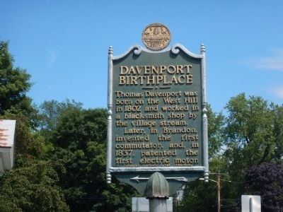 Davenport Birthplace Marker image. Click for full size.